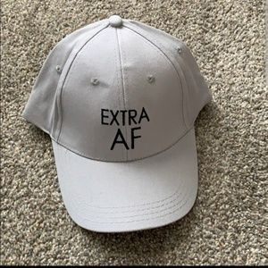 """Accessories - 🆕️ """"Extra AF"""" hat 😎🧢"""
